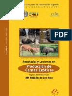 Estudio de Mercado Carnes Exoticas