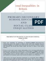 Educational Inequalities in Britain