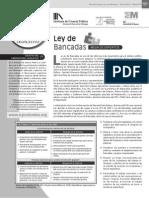 LEY DE BANCADAS