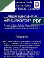 codigo de conducta 2004