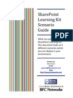 Share Point Learning Kit Scenario Guide
