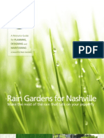 Tennessee; Rain Gardens for Nashville