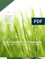 Tennessee; Rain Gardens for Nashville