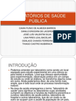 LABORATÓRIOS DE SAÚDE PÚBLICA