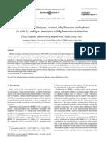 Determination of Benzene, Toluene, Ethyl Benzene and Xylenes