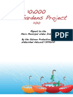 California; 10,000 Rain Gardens Project - Salmon Protection and Watershed Network
