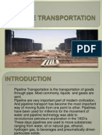 Pipeline Transportation Report