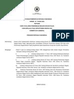 PP No 45 Tahun 2003 - Tarif Atas Jenis Penerimaan Negara Bukan Pajak Yang Berlaku Pada Dept ESDM