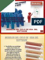 MODELOS  DEL  CICLO  DE  VIDA DEL SOFWARE