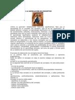 ASIMILACIÓN DE CONCEPTOS