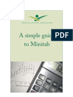 Simple Guide to Minitab