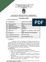 Expresión Corporal I 2008