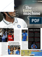 Sachin Tendulkar interview for Inside Cricket