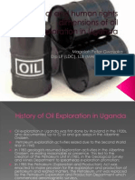 Legal and Human Rights Dimensions of Oil Exploration