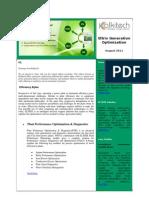 Generation Substation Optimization Newsletter