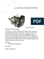 Golf Cart Manual