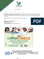Formato y Programa Definitivo Simposio Cancer 2011