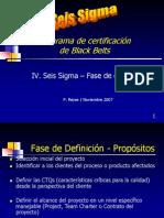 Seis Sigma Bb Definicion
