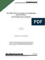 Car Acoustics