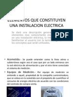 Elementos Que Constituyen Una Instalacion Electrica