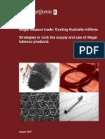 PWC Illegal Tobacco Costing Australia Millions November 2007