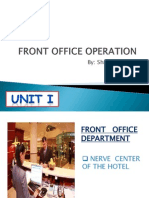 Front Office Operation