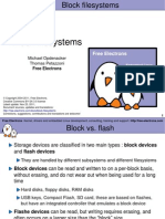 Block File Systems