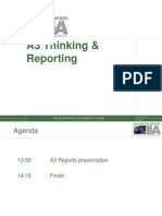 A3 Thinking & Reporting