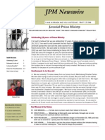 JPM November 2011 Newsletter