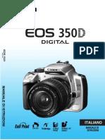 MANUALE EOS 350 D