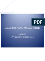22890354 Leadership and Management
