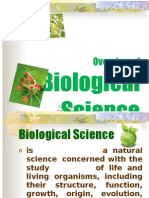 Overview of Biological Science