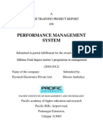 H.R.management Report