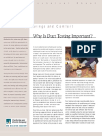 Why is Duct Testing Important