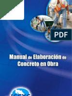 Manual de Elaboración de Concreto en Obra