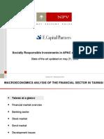 Macro Economic Analysis Taiwan 530