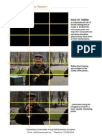 Photo Composition - Rule of Thirds