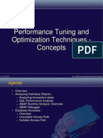 Tuning Optimization Concepts
