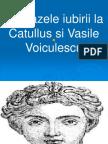 Ipostazele Iubirii La Catullus Si Vasile Voiculescu