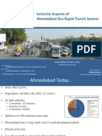 Inclusive Aspects of Ahmedabad Bus Rapid Transit System