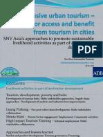 Inclusive urban tourism