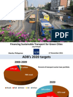 Financing Sustainable Transport for Green Cities