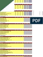 Boletim e Calendário de Provas