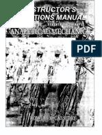 Analytical Mechanics_solutions Manual