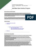 Install Base Open Interface