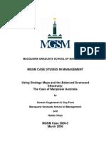 MGSM - Case Studies 2006-3
