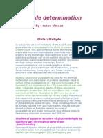 Aldehyde Determination.razan Almaaz