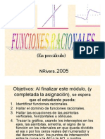 Microsoft Power Point Funciones Racionales 2005