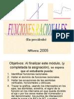 Microsoft Power Point Funciones Racionales 2005