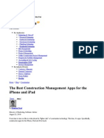 The Best Construction Management Apps for the iPhone and iPad - Software Advice Articles